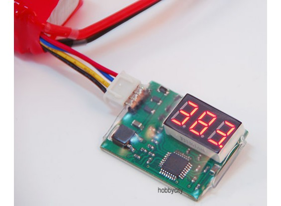 デジタル電圧表示ユニット