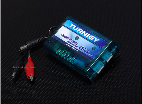 Turnigy 12V 2-3S基本的なバランス充電器