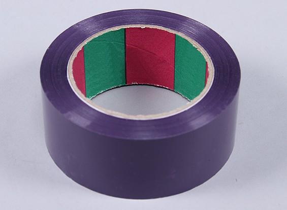45micのx 45ミリメートルのx 100メートル(ワイド - パープル)ウィングテープ