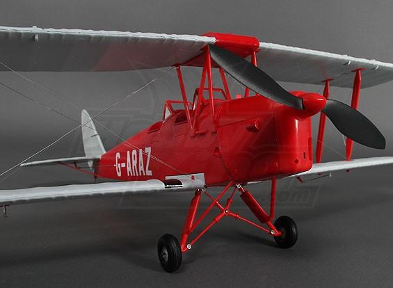 TigerMoth DH82Aレッド/シルバー912ミリメートル(P&P)