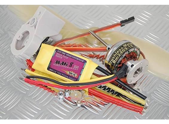 TowerPro BM2409-18T / 25A BEC / 9x4.7プロップコンボ