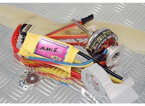 TowerPro BM2409-12T / 25A BEC / 9x6プロップコンボ