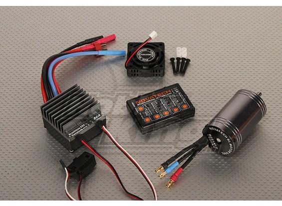 ブラシレス車の電源システム1700kv / 80A