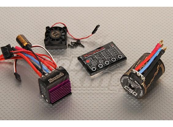ブラシレス車の電源システム5000kv / 75A