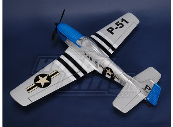 P-51 Fighterw / BLモーター/サーボ/ ESC(PNF)