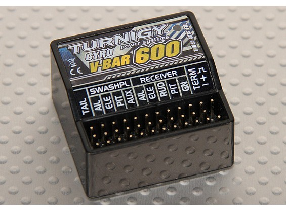 Turnigy V-バー600フライバーレスシステムエアプレーンエアプレーン(V3)