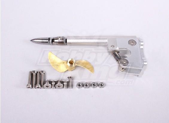スーツHobbyKingヴァンキッシュ1075MM BOAT  -  47ミリメートルプロップ/ワット4.76ミリメートル調節可能なストリンガーキット
