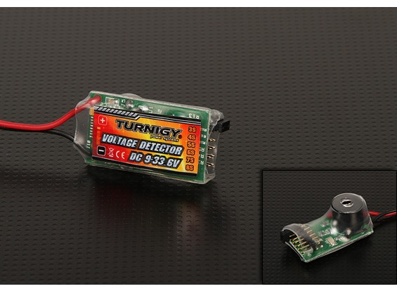 Turnigy™電圧モニタ(3S〜8S)