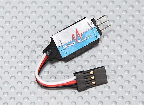 BECのための電圧ブースター