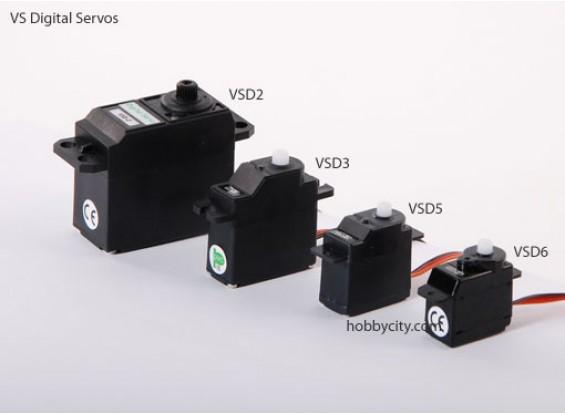 VSD-6デジタルサーボ6.0グラム/ 0.6キロ/ .10sec