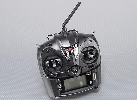 JR XG6 6チャネル2.4GHzのDMSSトランスミッタRG631Bレシーバ(モード2)/ワット