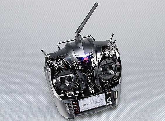 JR XG8 8チャネル2.4GHzのDMSSトランスミッタRG831Bレシーバ(モード2)/ワット