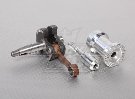 XYZクランク、ピン&プロップボスキット、エンジン部品番号4&11&12(26cc)