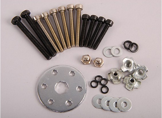 XYZエンジンボルト&プロップホルダーセット(26cc)