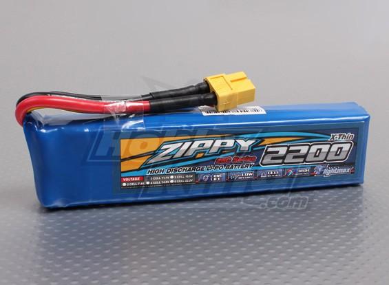 ジッピーFlightmax 2200mAhの3S1P 25C(X-シン)