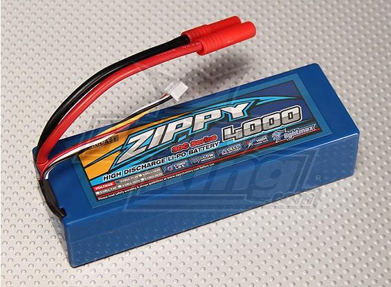 ジッピー4000mAh 3S1P 30Cハードケースパック