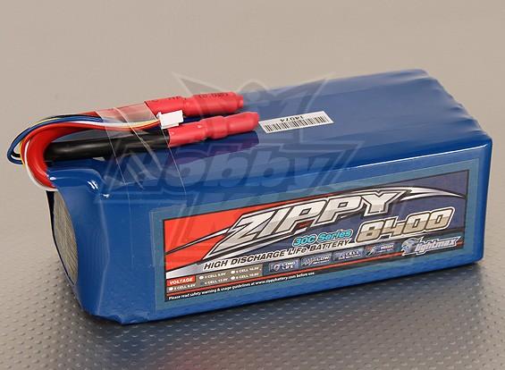 ジッピーFlightmax 8400mAh 4S2P 30CのLiFePO4パック