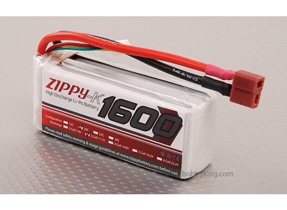 ジッピー-K 1600 3S1P 20Cリポパック
