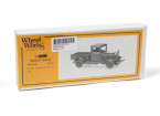 Micro Engineering HO Scale Wheel Works 1934 Pickup Truck Kit 1pc (96-101)