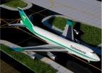 Gemini Jets Transamerica Airlines Boeing 747-200 N742TV 1:400 Diecast Model GJTVA226