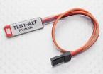 XGシリーズ2.4GHzのDMSSトランスミッタ用のJR TLS1-ALTテレメトリ高度センサ