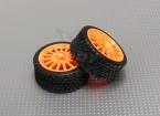 オレンジホイールとタイヤのセット -  A2029-33328