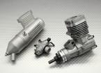 ASP S25AII 2ストロークグローエンジンのリモートニードル/ワット