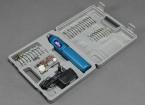 ドレメルスタイルコードレスロータリーハンドツールワット/ 60pcセット(110V米国のプラグイン充電器)