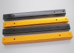 Hobbyking X650Fガラス繊維クワッドローターフレーム550ミリメートルのアルミニウム管(4本)