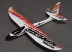 スーパーキネティックエアロバティックスポーツグライダー飛行機EPO 815ミリメートル(PNF)