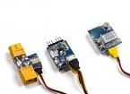 タイニーOSD IIIをHobbyKing(10HzのGPSおよび80A電流センサ/ワット)