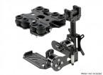 カーボンファイバーバージョン - のGoProカメラ用2軸ブラシレスジンバル衝撃吸収