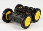 DG012-ATV 4WD(ATV)4つのゴム製タイヤ付きマルチシャーシキット