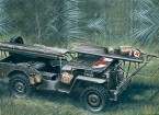 イタレリ1/35スケール4×4救急車ジーププラスチックモデルキット