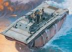 イタレリ1/35スケールLVT-2水陸両用トラクタプラスチックモデルキット