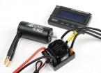 HobbyKing®™X-カー獣シリーズモーターと120A ESCコンボ1/8スケール