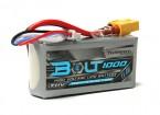 Turnigyボルト1000mAhの3S 11.4V 65〜130℃の高電圧Lipolyパック(LiHV)
