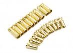 4ミリメートルスープラXゴールドブレットコネクタ(10組)