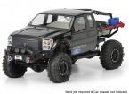 SCX10トレイル本町のためのプロラインフォードF-250スーパーデュアルキャブクリアボディシェル