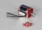 ADS400Lブラシレスアウトランナー3700kv 600ワットを水冷