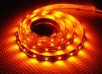 高密度のR / C LEDフレキシブルストリップ - 黄(1mtr)