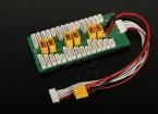 6パック2〜6S用HobbyKingパラレル充電ボード(XT-60)