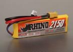 Rhinoの2150mAh 2S1P 20C Lipolyパック