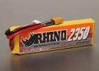 Rhinoの2350mAh 4S1P 25C Lipolyパック