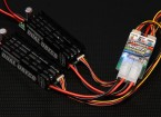 Turnigy冗長デュアル8A UBEC Rxの電源システム