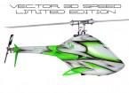 RJXベクトル700 EP 3Dスピード限定版フライバーレスヘリコプターキット