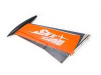 H-King SkySword 1200 Orange EDF Jet - Left Wing