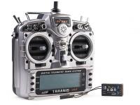 FrSky 2.4GHzのACCST TARANIS X9D PLUSとX8Rコンボデジタルテレメトリー無線システム(モード2)