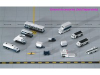 Gemini Jets New 14 Pieces Ground Accessories Set 1:400 GJARPTSETA