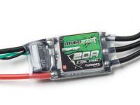 Turnigy Multistar 32ビット20AレーススペックESC 2〜6S(OPTO)